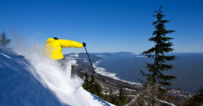Superieur Background. Le Massif De Charlevoix Is The Brainchild Of Daniel Gaulthier,  Rising Star In The Community Development ...
